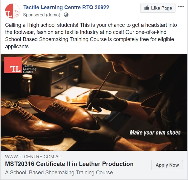 Marketive Minds   Tactile Learning Centre – Shoe Making